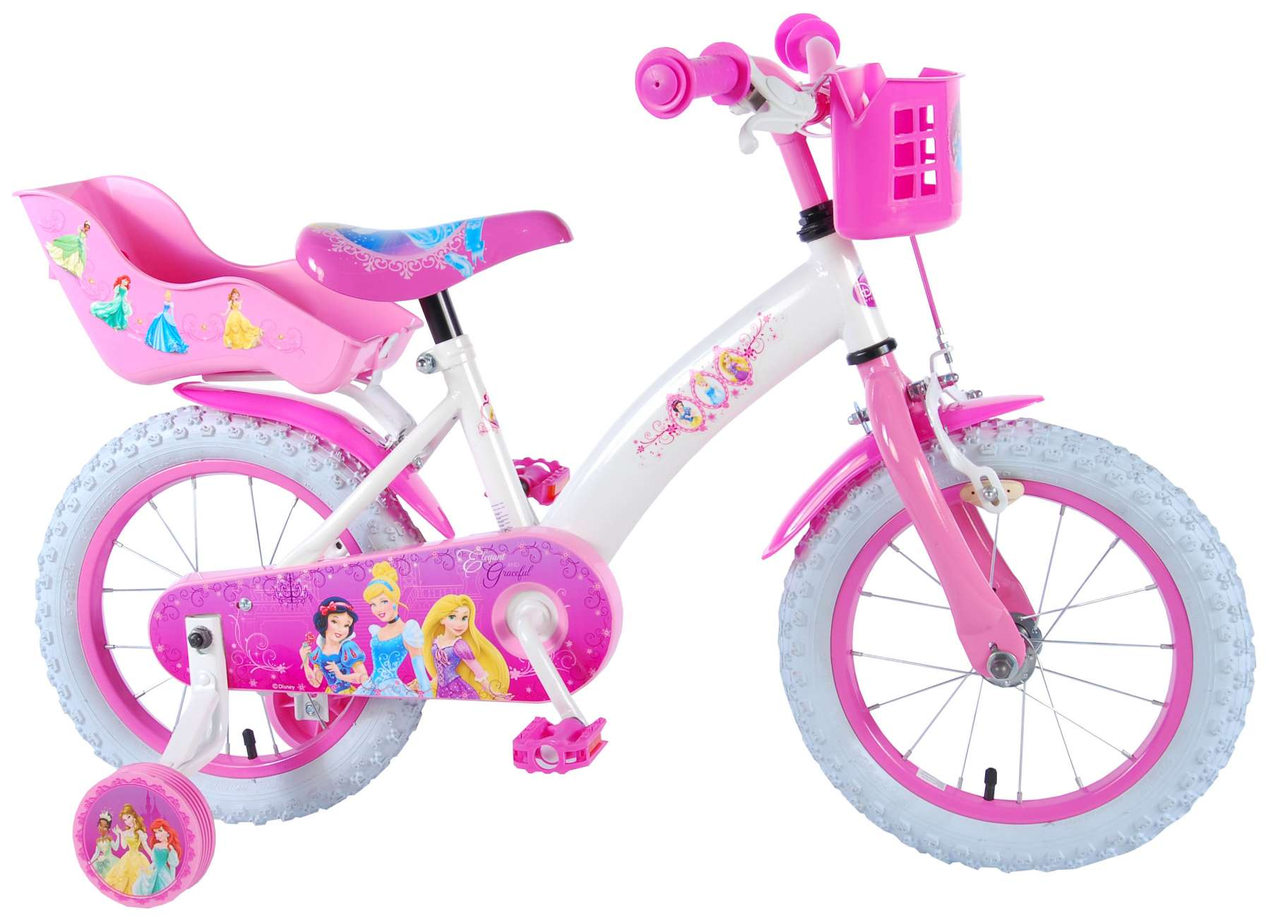 83fd58038dd Disney Princess 14 inch girls bicycle
