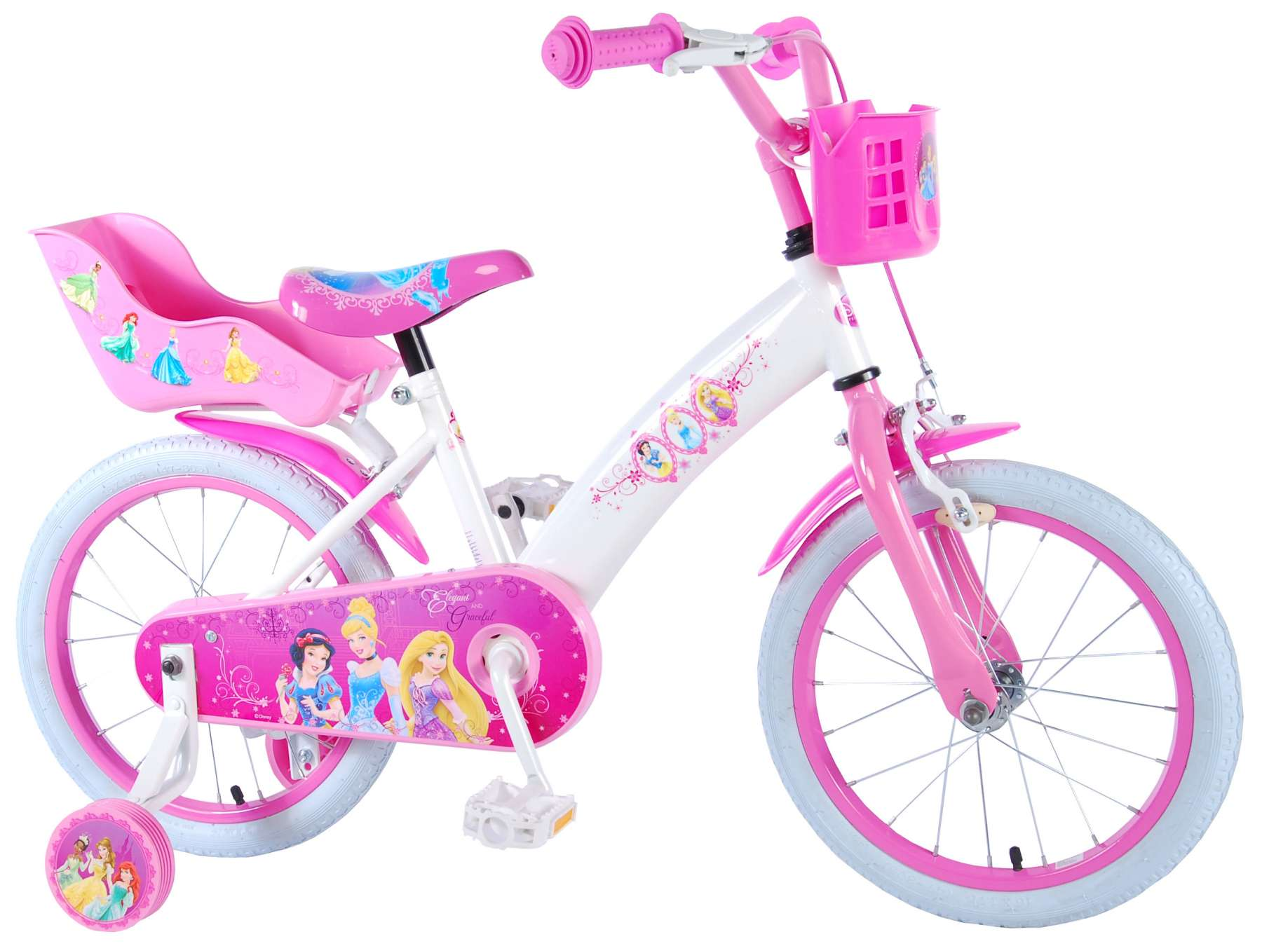 a5e62036b1d Disney Princess 16 inch girls bicycle