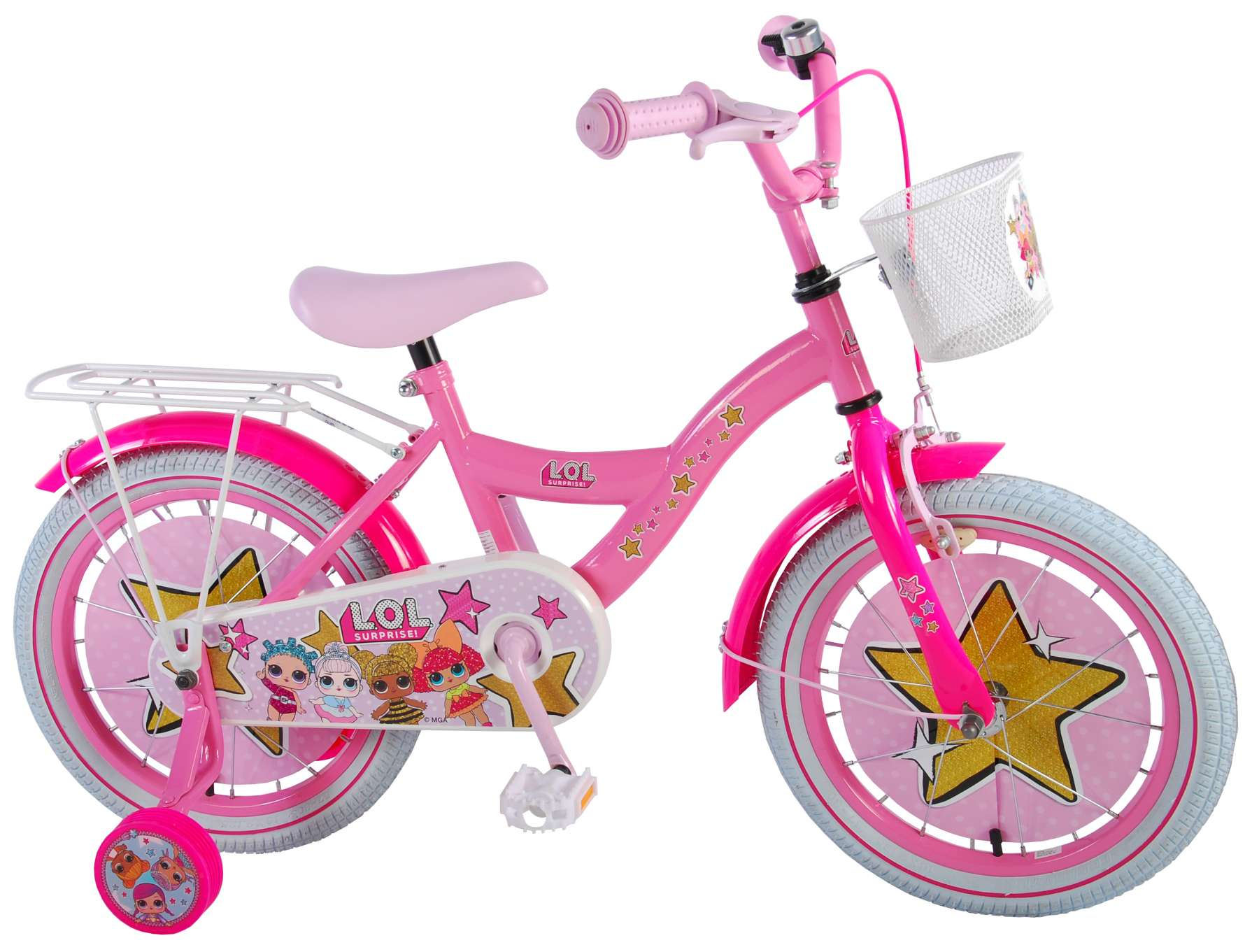 LOL Surprise 16 inch girl bike