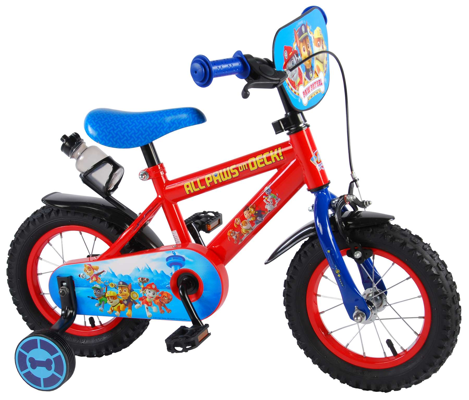 "12/"" Paw Patrol Marshall Boys/' Training Wheels BMX Bike Kids bicycle tricycle"