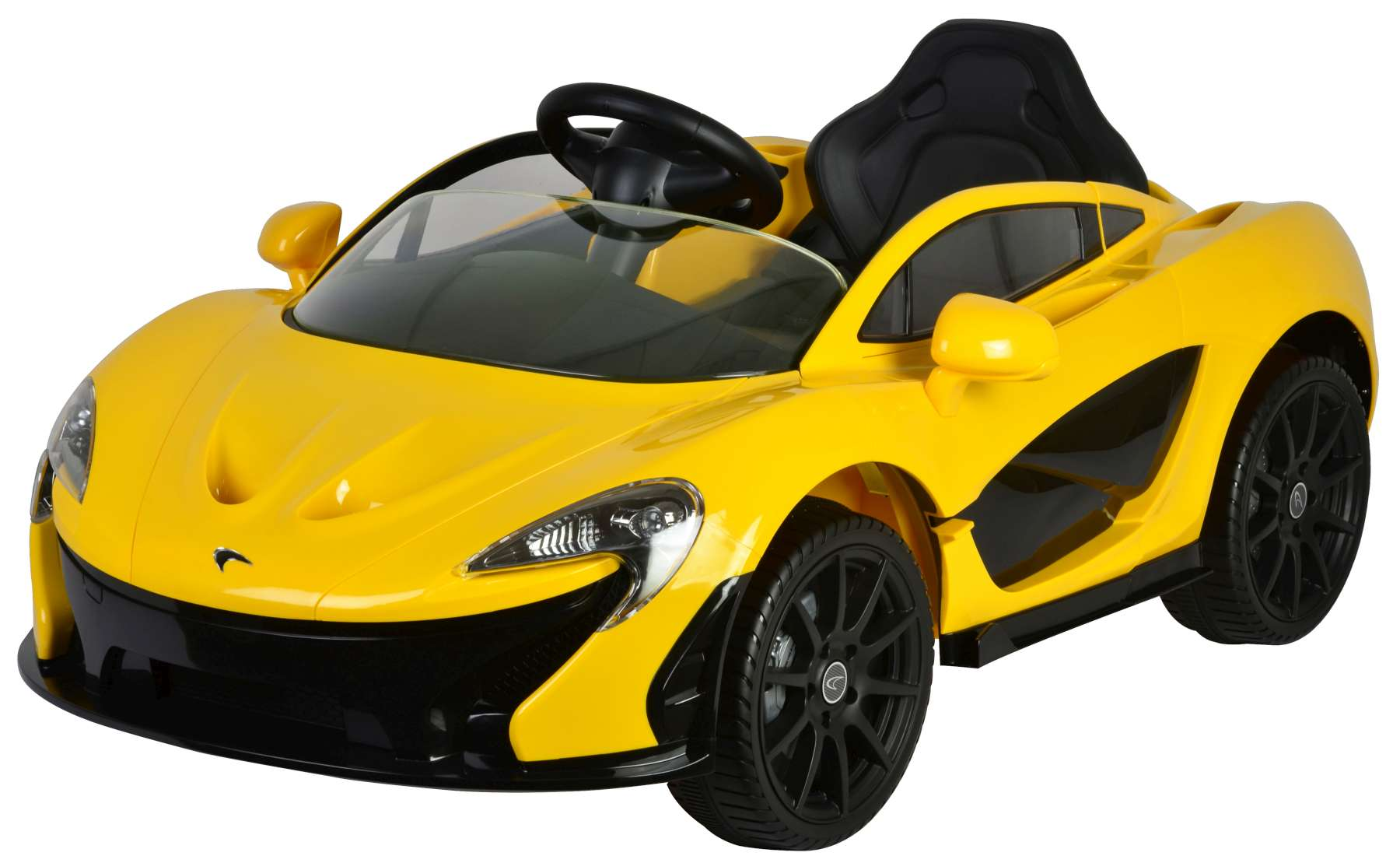Mclaren P1 Yellow Electric Car With Remote Control 12 Volt
