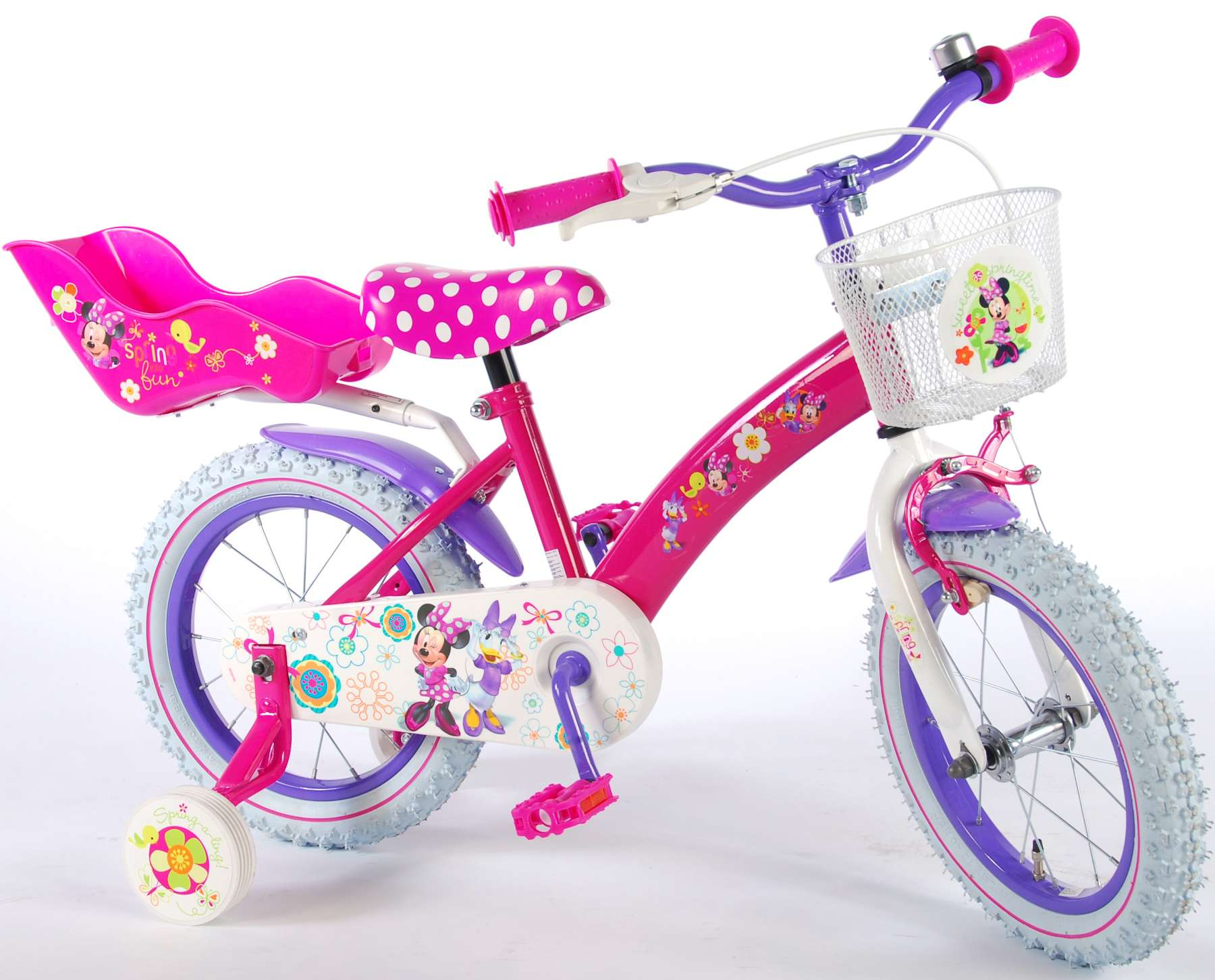 Disney Minnie Mouse Bow Tique 14 Inch Girls Bicycle