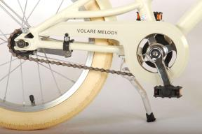 Volare Melody Children's bicycle - Girls - 16 inch - Sand - Prime Collection