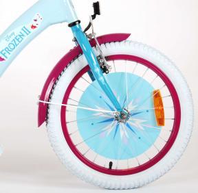 Disney Frozen 2 Children's Bicycle - Girls - 18 inch - Blue / Purple - 95% assembled