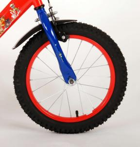 Paw Patrol Children's Bicycle - Boys - 16 inch - Red Blue