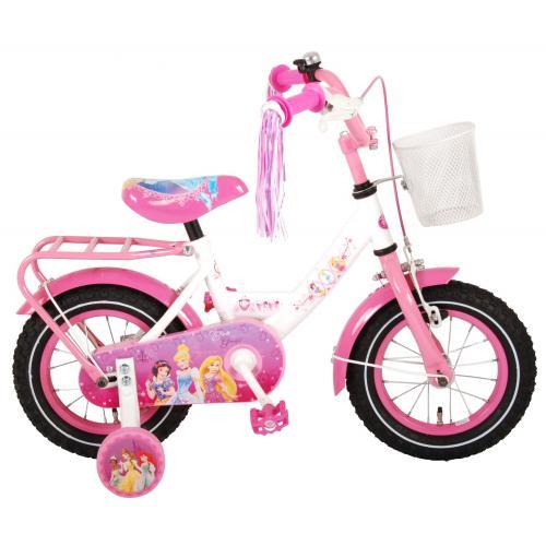 Disney Princess Children's Bicycle - Girls - 12 inch - Pink - 95% assembled