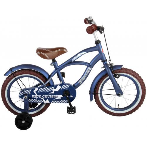 Volare Blue Cruiser Children's Bicycle - Boys - 14 inch - Blue - 95% assembled