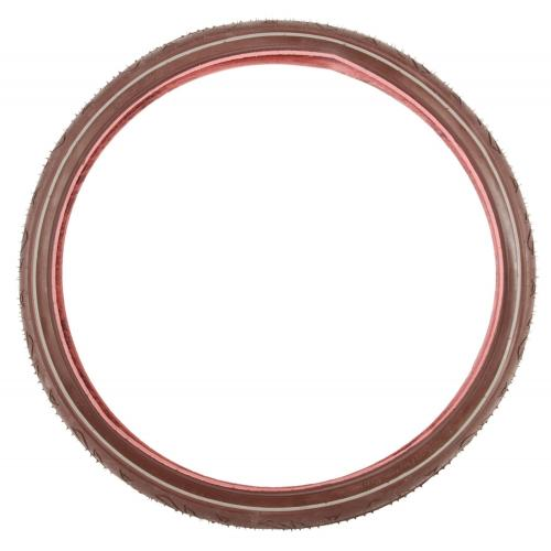 Kids bicycle tire 26 inch brown