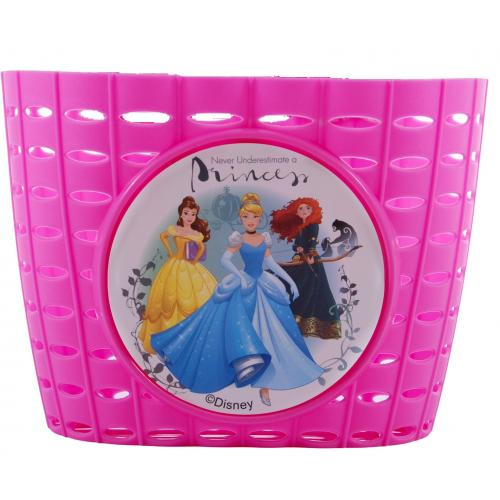 Disney Princess Plastic Basket Girls Pink