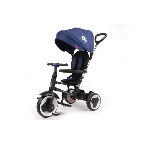 QPlay Tricycle Rito 3 in 1 - Boys and Girls - Blue - Deluxe