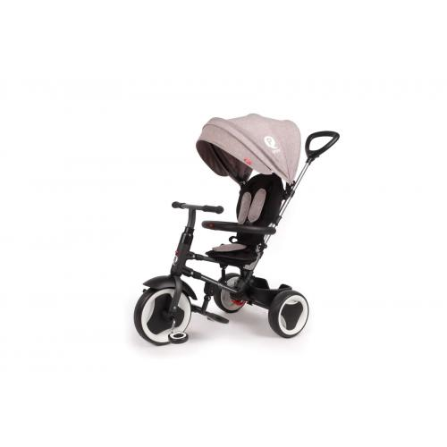 QPlay Tricycle Rito 3 in 1 - Boys and Girls - Grey - Deluxe