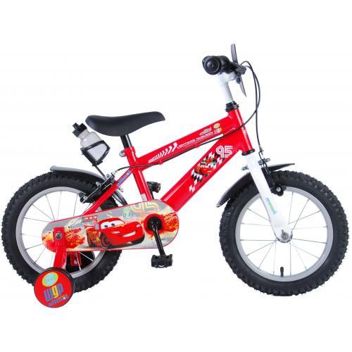 Disney Cars Children's Bicycle - Boys - 14 inch - Red - 2 handbrakes