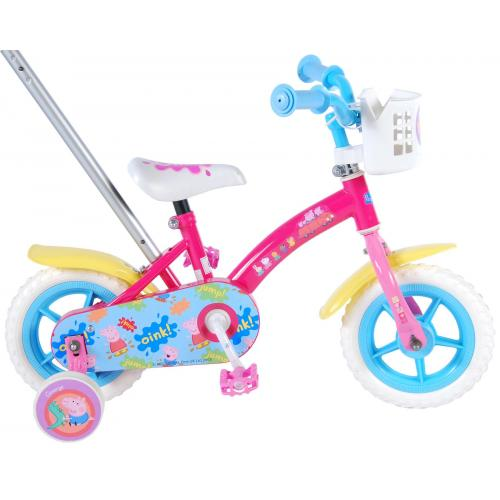 Peppa Pig Children's Bicycle - Girls - 10 inch - Pink / Blue