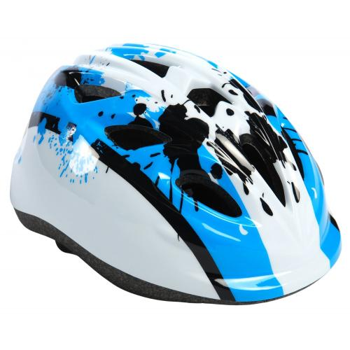 Volare Children's Bicycle Helmet Blue White XS 47-51 cm extra small model