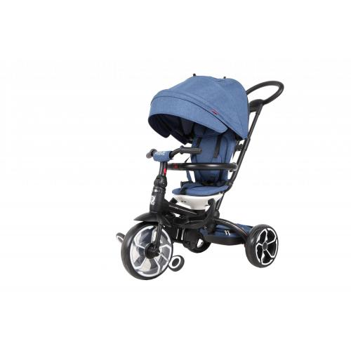 Qplay Tricycle Prime 6 in 1 - Boys and Girls - Blue