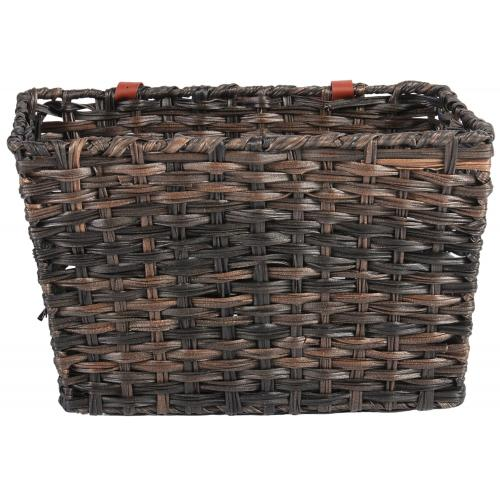 Braided bicycle basket large