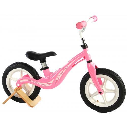 Volare Magnesium Balance Bike - Girls - 12 inch - Pink