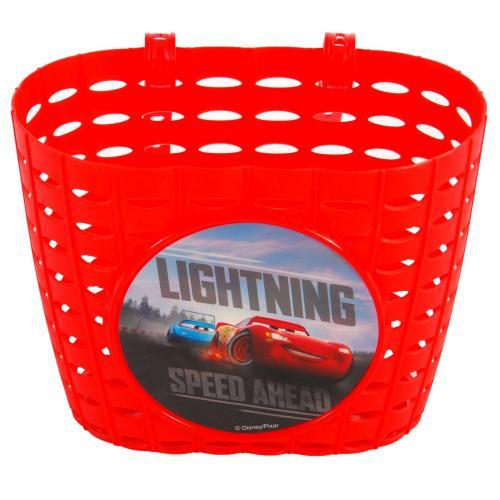 Disney Cars Plastic Bicycle Basket