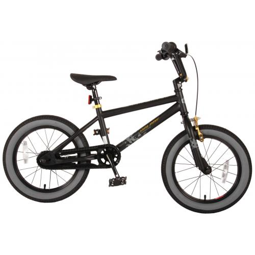 Volare Cool Rider Children's Bicycle - Boys - 16 inch - Black - 95% assembled