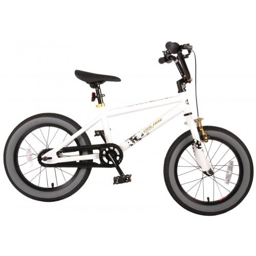 Volare Cool Rider Children's Bicycle - Boys - 16 inch - White - 95% assembled