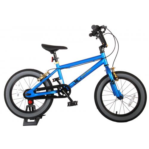 Volare Cool Rider Children's Bicycle - Boys - 16 inch - blue - two hand brakes - 95% assembled