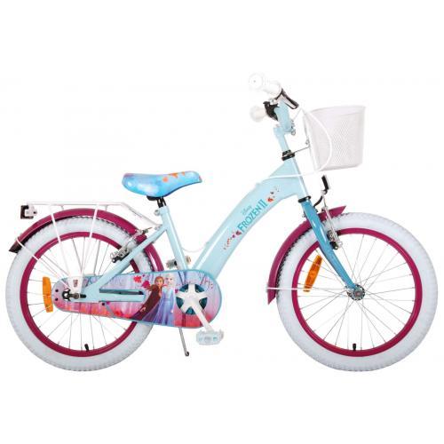 Disney Frozen 2 Children's Bicycle - Girls - 18 inch - Blue / Purple - 2 Hand brakes