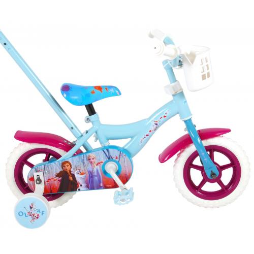 Disney Frozen 2 Children's Bicycle - Girls - 10 inch - Blue / Purple