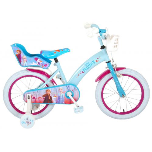 Disney Frozen 2 - Children's Bicycle - Girls - 16 inch - Blue / Purple