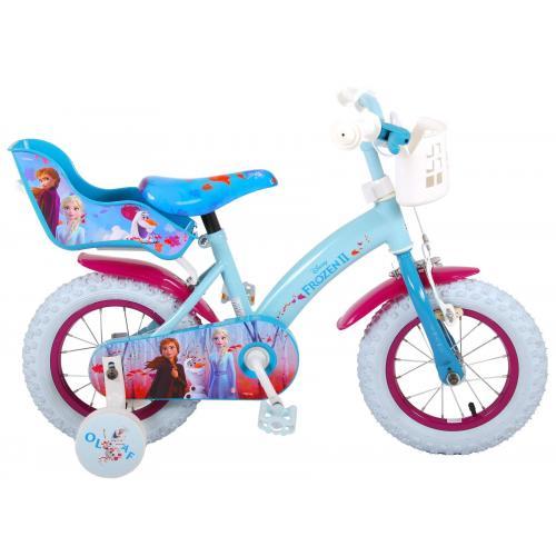 Disney Frozen 2 Children's Bicycle - Girls - 12 inch - Blue / Purple
