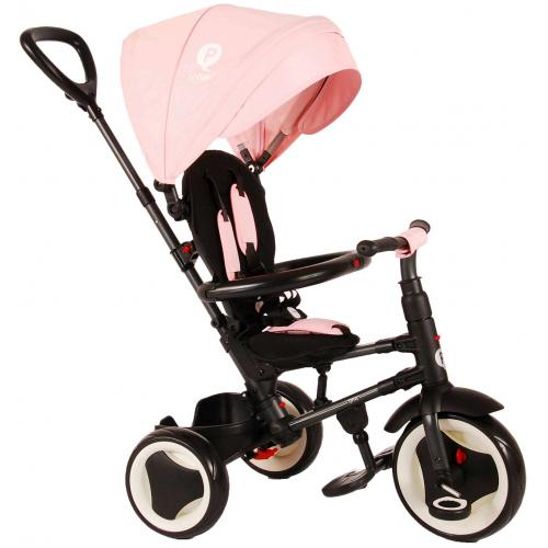 QPlay Tricycle Rito 3 in 1 - Girls - Pink - Deluxe
