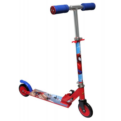 Spiderman Inline Scooter - Children - Red Blue