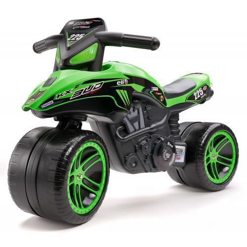 Falk Kawasaki Bud Racing Team Moto - Green - Boys - Balance bike