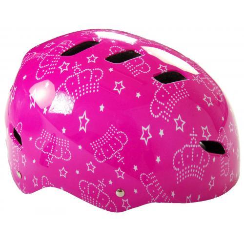 Volare Bike/Skate helmet - Pink - 55-57 cm