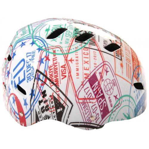 Volare Bike/Skate helmet - Travel the World - 55-57 cm