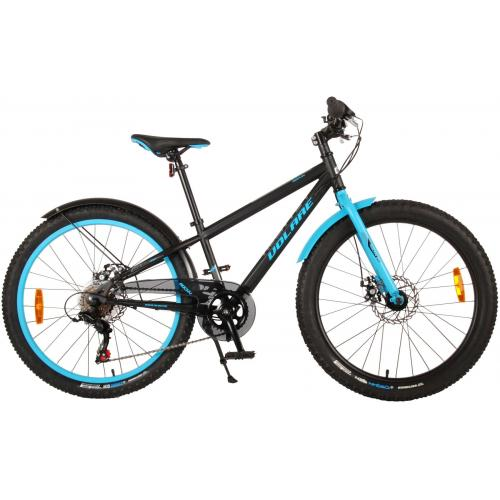 Volare Rocky Children's Bicycle - 24 inch - Black - 95% assembled
