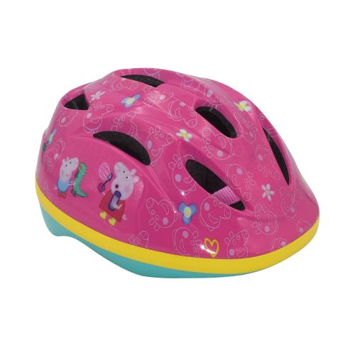 Peppa Pig kids bicycle helmet - pink - 51-55 cm