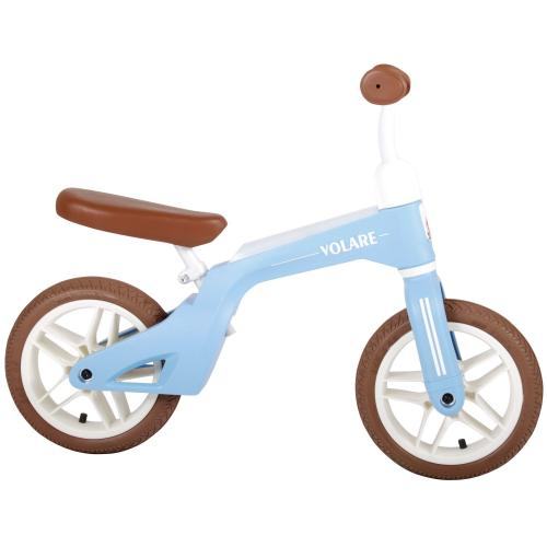 Volare Balance Bike - Boys and Girls - 10 inch - Blue
