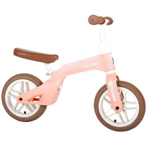Volare Balance Bike - Boys and Girls - 10 inch - Pink