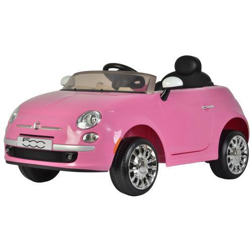 Fiat 500CC - Pink