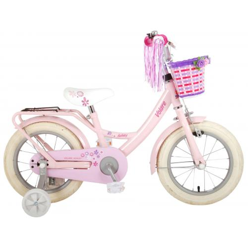 Volare Ashley Children's bicycle - Girls - 14 inch - Pink - 95% assembled