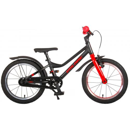 Volare Blaster Children Bicycle - Boys - 16 inch  - Black Red - Prime Collection
