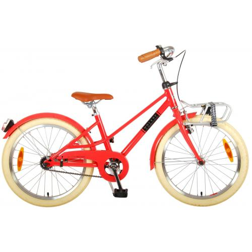 Volare Melody Children's bicycle - Girls - 20 inch - pastel red - Prime Collection