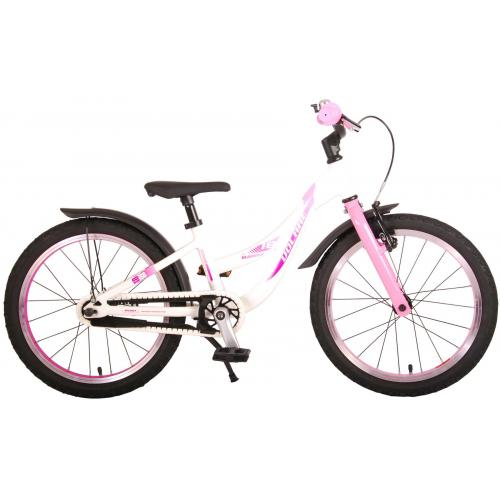 Volare Glamour Children's Bicycle - Girls - 18 inch - Pearl Pink - Prime Collection