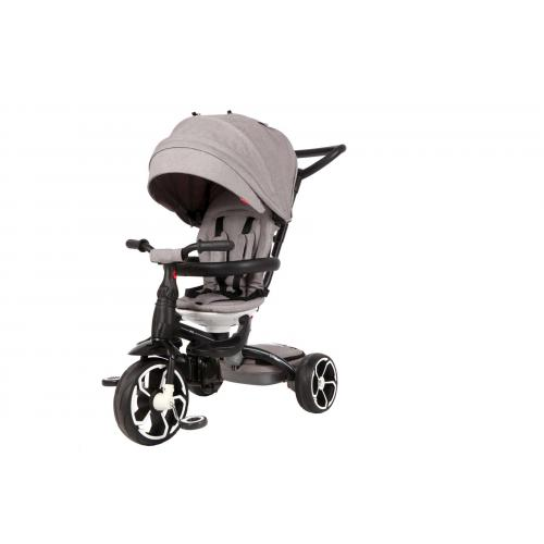 Qplay Tricycle Prime 6 in 1 - Boys and Girls - Grey
