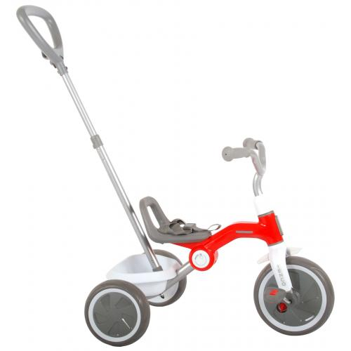 QPlay Tricycle Tenco - Boys and Girls - Red