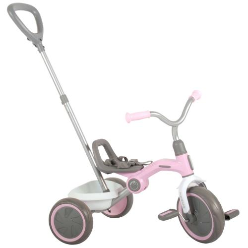 QPlay Tricycle Tenco - Boys and Girls - Pastel Pink