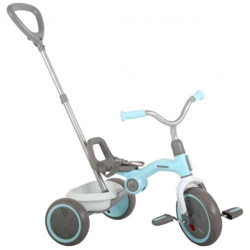 QPlay Tricycle Tenco - Boys and Girls - Pastel Blue