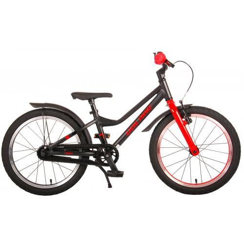 Volare Blaster Children Bicycle - Boys - 18 inch  - Black Red - Prime Collection