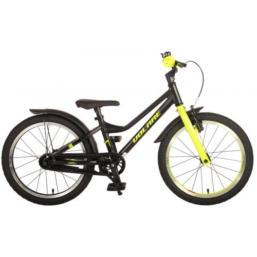 Volare Blaster Children Bicycle - Boys - 18 inch  - Black Green - Prime Collection
