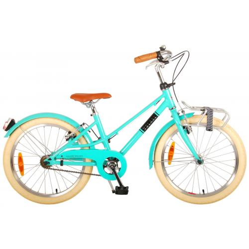 Volare Melody Children's bicycle - Girls - 20 inch - turquoise - two handbrakes - Prime Collection